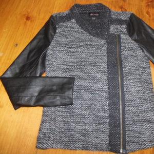 ELLA MOSS XS Boucle Sweater Jacket Wool